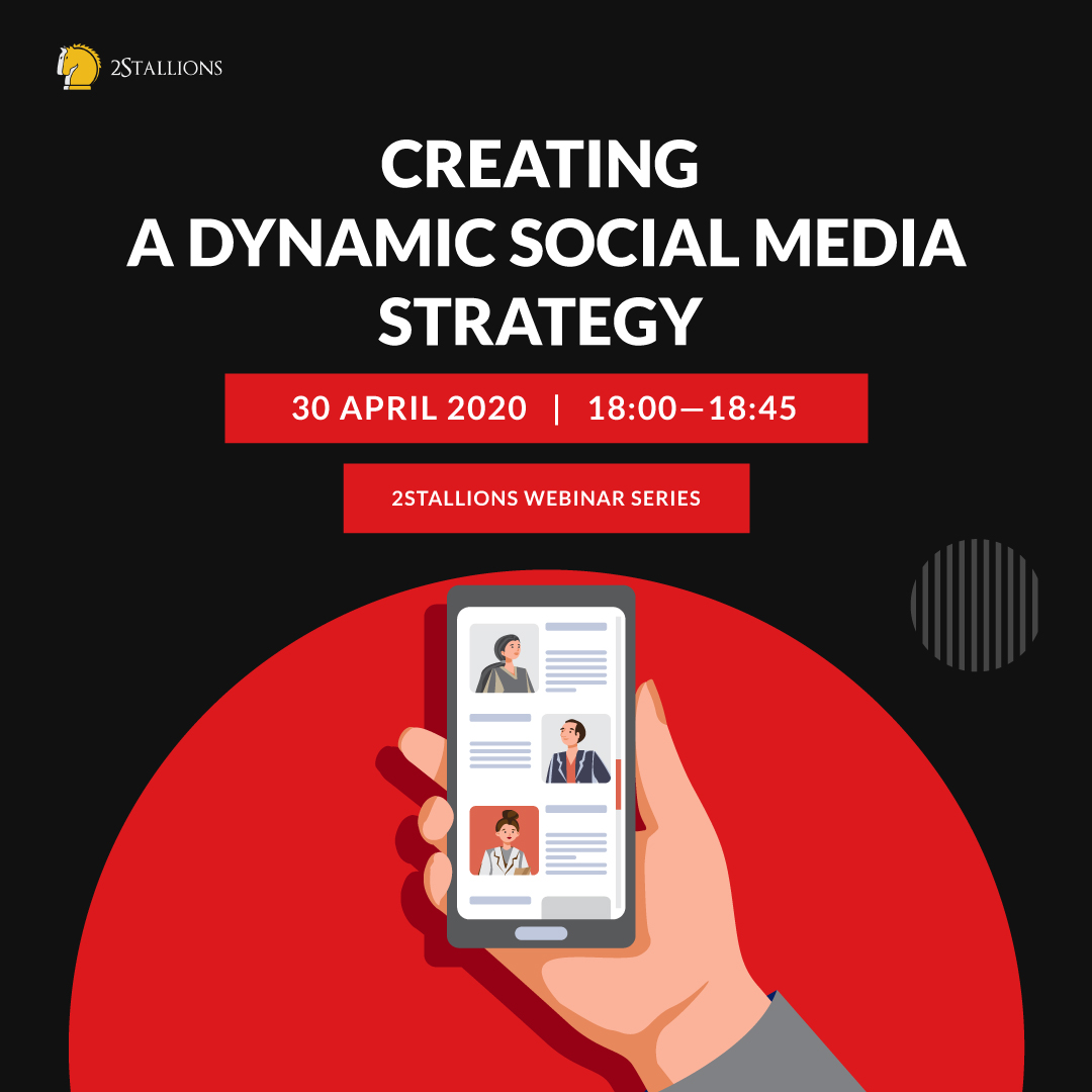 WEBINAR 2: CREATING A DYNAMIC SOCIAL MEDIA STRATEGY